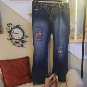 Denim - Clash Jeans size XL